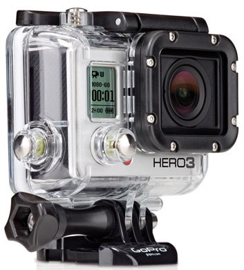 GO PRO  HERO3 BLACK EDITION PORTABLE CAMERA